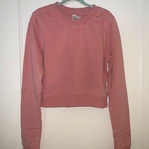 Lightweight Cropped Sweatshirt